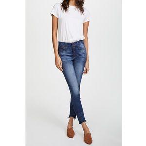 Madewell Jeans - Madewell High Riser Skinny Skinny with Step Hem